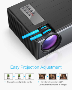 Videoproiector BlitzWolf BW-VP1, 2800 Lumens, Native 720p, LED, HDMI, VGA, AV, USB5