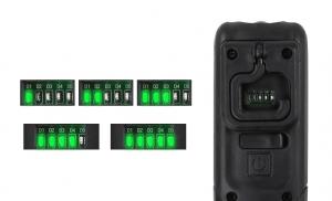 Lanterna LED Supfire G6, 140 lumeni, acumulator 1200 mAh, incarcare USB3