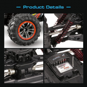 Masina cu Telecomanda XinLeHong IN9125 Monster Truck de mare viteza, Off-Road Racing Tractiune 4X4, 46Km/h Scala 1:107