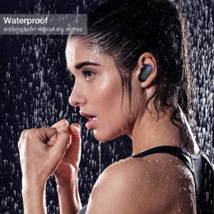 Casti TWS Bluetooth 5.0  True Wireless Blitzwolf BW-FYE7, Dual Dynamic Driver, Bas puternic stereo [7]
