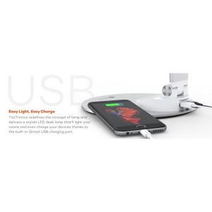 Lampa de birou LED TaoTronics TT-DL19 control Touch, 5 moduri, protectie ochi, USB8