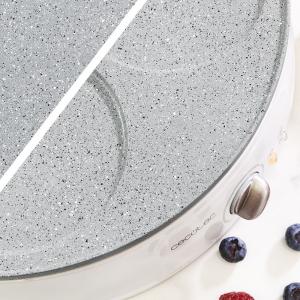 Aparat pentru preparat clatite CECOTEC 8008, placa reversibila,1200W, Diametrul placii 30cm,alb [7]