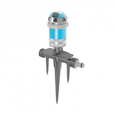 Aspersor pulsatoriu cu tarus triplu Cellfast Power Ideal,  6 moduri stropire, 346mp [0]
