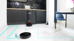 Aspirator robot 4 in 1 Conga 1790 Ultra, Control aplicatie, 2100 Pa, autonomie 160 minute, rezervor lichide si praf, 2 perii centrale diferite5