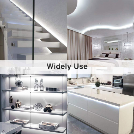 Banda LED Novostella 6m, 360 Leduri Lumina alb rece, Dimmer 6000K [5]