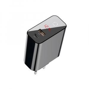 Baseus Incarcatorperete PPS QC USB + PD 45W - Negru2