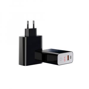 Baseus Incarcatorperete PPS QC USB + PD 45W - Negru4