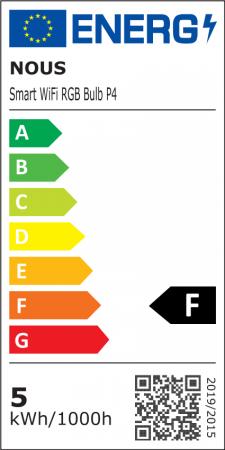 Bec LED RGB Smart NOUS P4, E14, Control din aplicatie [9]