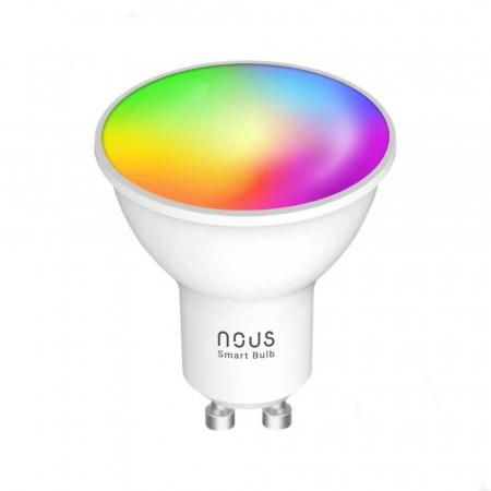 Bec LED RGB Smart NOUS P8, GU10, Control din aplicatie [0]