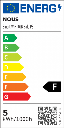 Bec LED RGB Smart NOUS P8, GU10, Control din aplicatie [7]