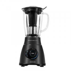 Blender Cecotec Power Black Titanium 1800 Smart, 1800 W, Zdrobire gheata, Bol sticla, Filtru pentru sucuri, 22000-rpm [1]
