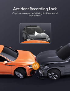 Camera auto DVR  Dubla Apeman C550, Full HD,  Bord si Spate, Unghi 170 grade, Detector miscare, WDR, G-Sensor, Mod parcare, Filmare in bucla [7]