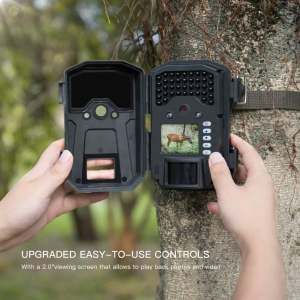 """Camera de vanatoare Apeman H55 senzor de miscare , 20 MP , full HD , 2.0"""" LCD , 850nm, night vision , 40 senzori infrarosu [5]"""