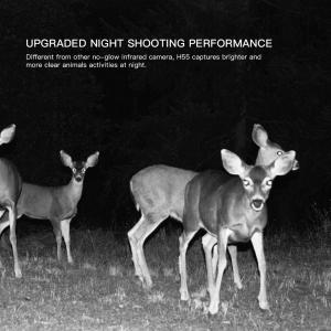 """Camera de vanatoare Apeman H55 senzor de miscare , 20 MP , full HD , 2.0"""" LCD , 850nm, night vision , 40 senzori infrarosu [3]"""