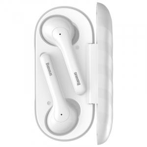 Casti audio In-Ear Baseus W07, True Wireless, Bluetooth 5.0,  TWS, alb1