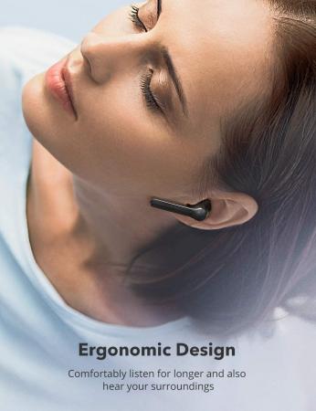 Casti audio In-Ear Taotronics SoundLiberty 92 , True Wireless, Bluetooth 5.0, TWS, Control Smart Touch USB-C, IPX6 [1]