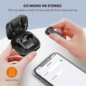 Casti audio In-Ear Taotronics TT-BH1001, True Wireless, Bluetooth 5.0, TWS  USB-C3
