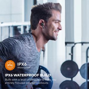 Casti audio In-Ear Taotronics TT-BH1001, True Wireless, Bluetooth 5.0, TWS  USB-C5