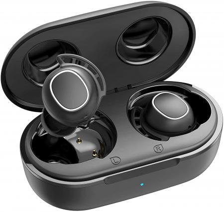 Casti audio In-Ear Mpow M30 TWS, Bas Clar, IPX8, 25 ore, USB-C, True Wireless, Bluetooth 5.0, TWS [0]