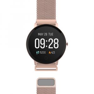 Smartwatch Forever Smart ForeVive SB-320 rose gold - Resigilat4
