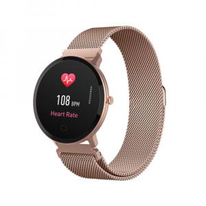 Smartwatch Forever Smart ForeVive SB-320 rose gold - Resigilat0