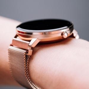 Smartwatch Forever Smart ForeVive SB-320 rose gold - Resigilat10