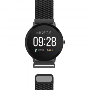 Smartwatch Forever Smart ForeVive SB-320 black4