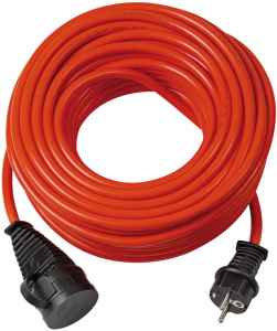Cordon prelungitor Brennenstuhl BQ, IP44, 10m, IP44, H07BQ-F 3G1,5 - Rosu0