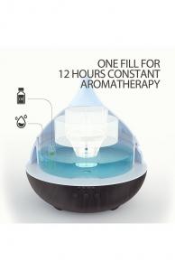 Difuzor aroma cu Ultrasunete Anjou AJ-AD012, 500ml, LED, oprire automata - Wenge5