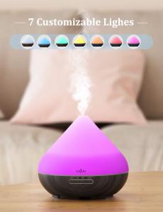 Difuzor aroma cu Ultrasunete Anjou AJ-AD001, 300ml, 13W, LED 7 culori, oprire automata6
