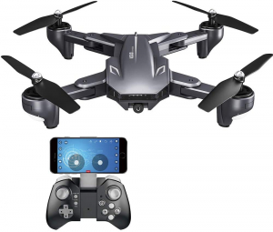 Drona Visuo XS809HW Camera 2Mp cu transmisie pe telefon, altitudine automata, brate pliabile [0]
