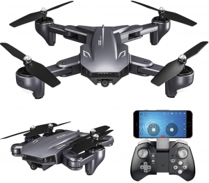 Drona Visuo XS809HW Camera 2Mp cu transmisie pe telefon, altitudine automata, brate pliabile [7]