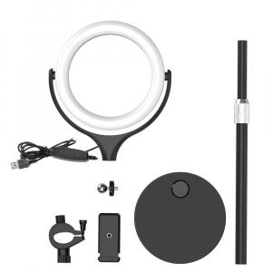 Lampa Circulara LED BlitzWolf BW-SL4 Make up Profesionala, Ring Light 64 Leduri cu Lumina Rece/Calda Tip Inel [7]
