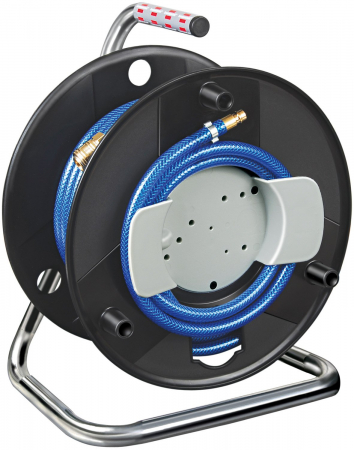Furtun Aer comprimat compresor Brennenstuhl cu tambur, 20m, Ø 6/12mm, 15 bari0