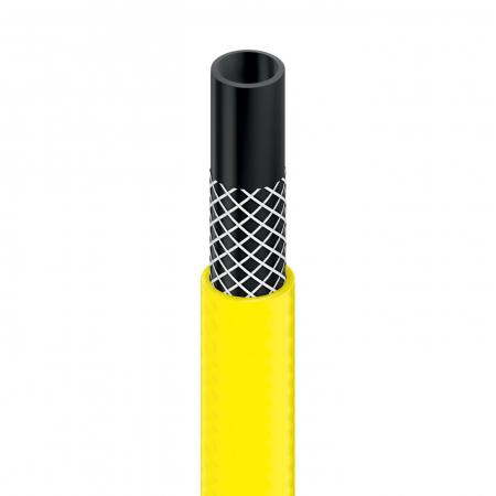 """Furtun pentru gradina Cellfast Plus cu 3 straturi, 1/2"""", Armat, 25m, protectie UV1"""