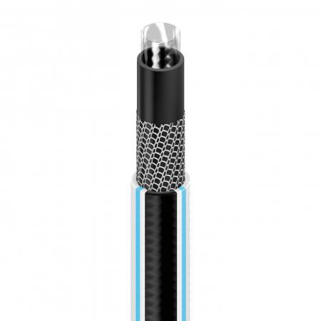 """Furtun pentru gradina Cellfast MULTIFLEX cu 4 straturi, 3/4"""", Armat, 25m, protectie UV, antirasucire1"""