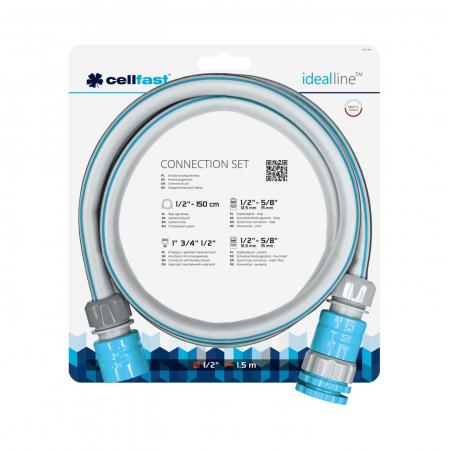 Set furtun de conexiune MULTIFLEX ATSV Cellfast 1.5m2