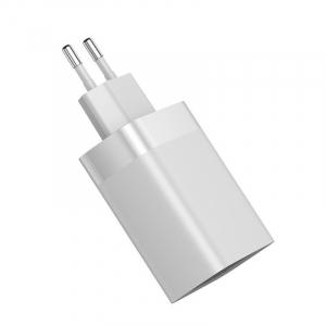 Incarcator USB Premium Baseus Mirror Lake Digital Display 4x Usb Travel Charger 30w 6a ,Alb7