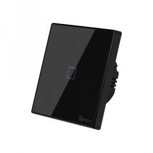 Intrerupator Smart  cu Touch WiFi + RF 433 Sonoff T3 EU TX, 1 canal [1]