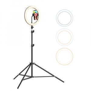 Lampa Circulara LED BlitzWolf BW-SL2 Make up Profesionala, Ring Light 120 Leduri cu Lumina Rece/Calda10