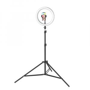 Lampa Circulara LED BlitzWolf BW-SL2 Make up Profesionala, Ring Light 120 Leduri cu Lumina Rece/Calda11