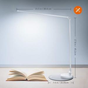 Lampa de birou cu LED TaoTronics TT-DL66, incarcare USB, 6 niveluri de luminozitate - Silver [4]