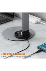 Lampa de birou cu LED TaoTronics TT-DL66, incarcare USB, 6 niveluri de luminozitate - Black1