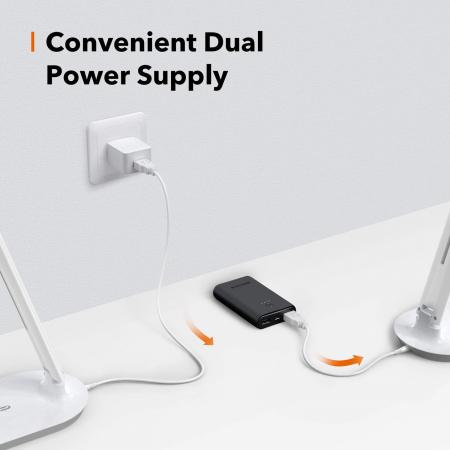 Lampa de birou LED TaoTronics TT-DL064 control Touch, 5 moduri, 5W [7]