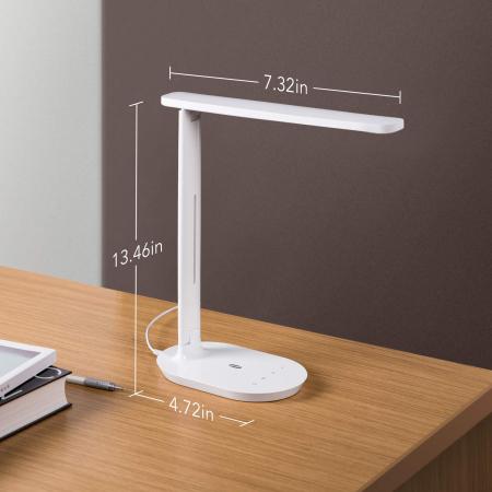 Lampa de birou LED TaoTronics TT-DL064 control Touch, 5 moduri, 5W [5]