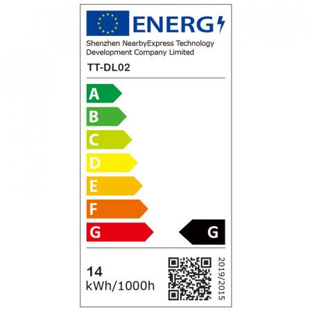 Lampa de birou LED TaoTronics TT DL02 control Touch, 4 moduri, 14W, USB - Alba [9]