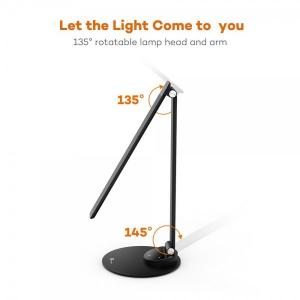 Lampa de birou LED TaoTronics TT-DL19 control Touch, 5 moduri, protectie ochi, USB Negru [1]