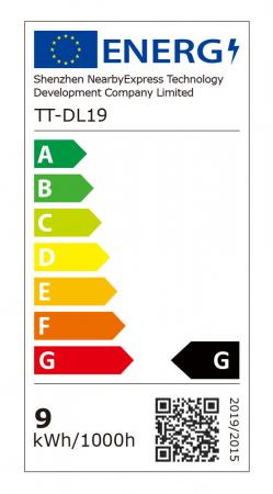 Lampa de birou LED TaoTronics TT-DL19 control Touch, 5 moduri, protectie ochi, USB Negru [6]