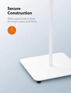 Lampa de podea LED TaoTronics TT-DL072, ajustabile 4 culori de culoare, 4 niveluri de luminozitate - Alba5