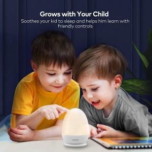 Lampa de veghe Smart VAVA VA-CL006 LED cu reglare touch a Intensitatii, lumina calda si rece4